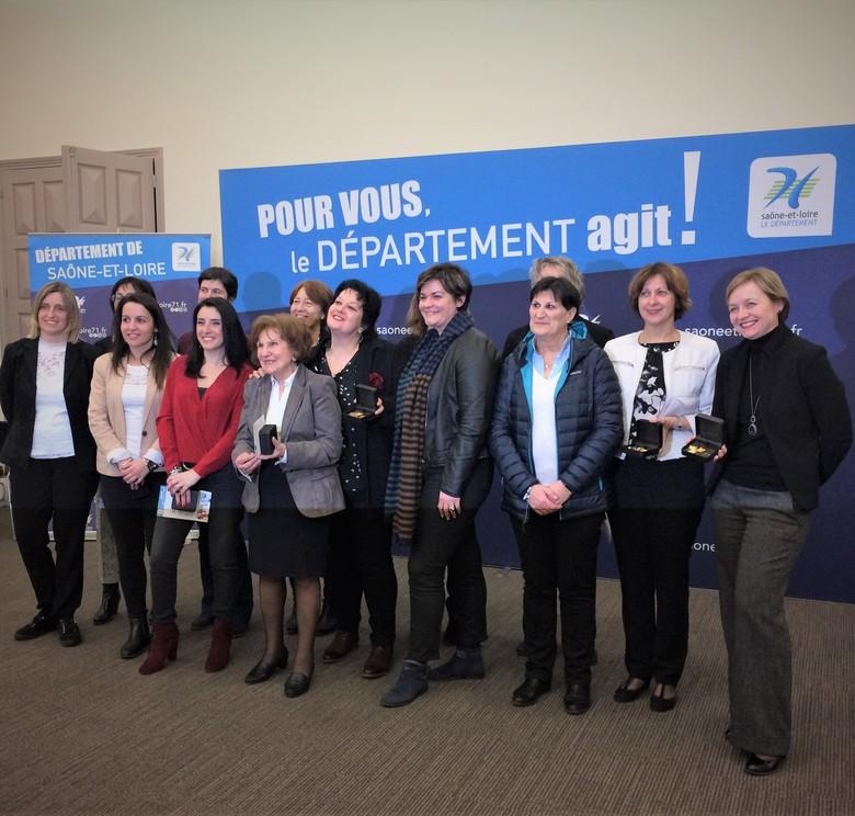 12 femmes d'action récompensées